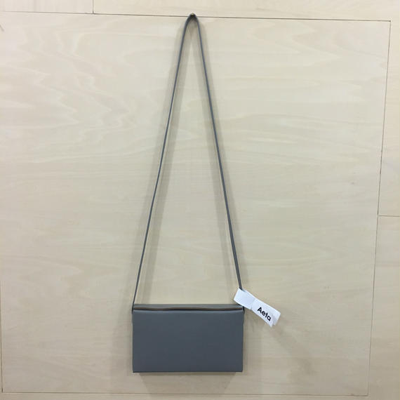 Aeta / LE08 / BOX SHOULDER BAG (GRAY)