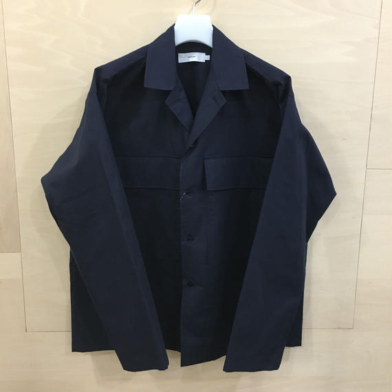 Graphpaper / GM191 50022 / STEVENSONS Military Shirt (NAVY)
