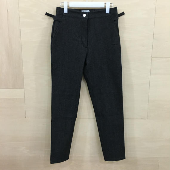AQUVI / CONTROL PANTS (BALCK DENIM)