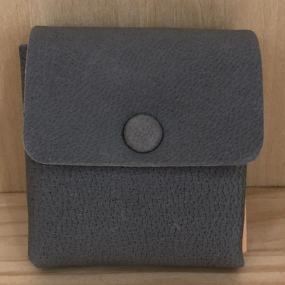 Aeta / DA16 / COIN CASE (GRAY/NATURAL)