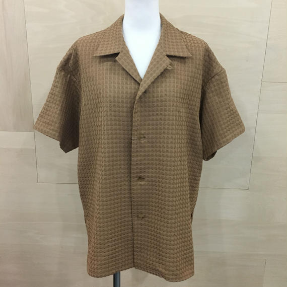 ETHOSENS / E118 103  / SHIRT (BROWN)