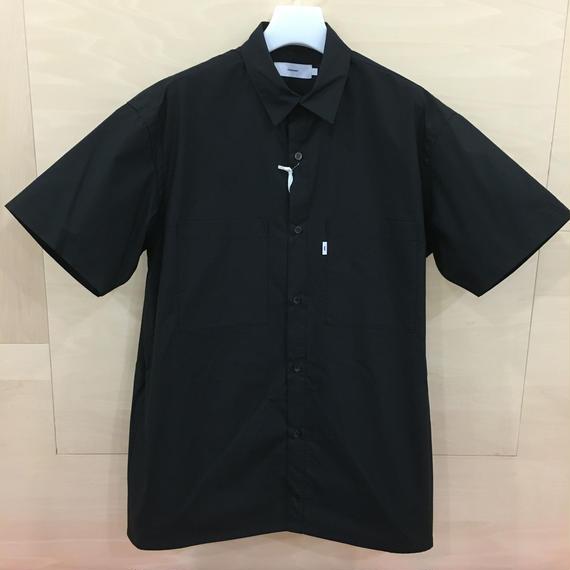 Graphpaper / GU182 50080 / Typewriter S/S Box Shirt (BLACK)