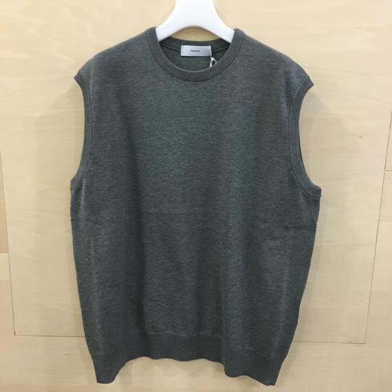 Graphpaper / GU191 80065 / Suvin Vest (GRAY)
