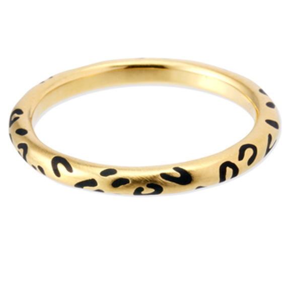 chigo / LEOPARD PATTERNED RING / CRB-90