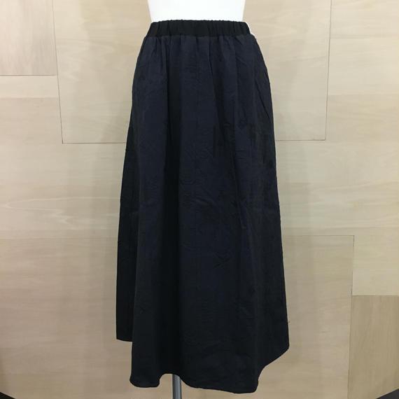 bsd 18SS 08 メルティング刺繍スカート