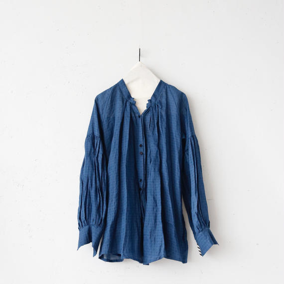 Tabrik タブリク /  Back pleated blouseバックプリーツブラウス / ta-17049