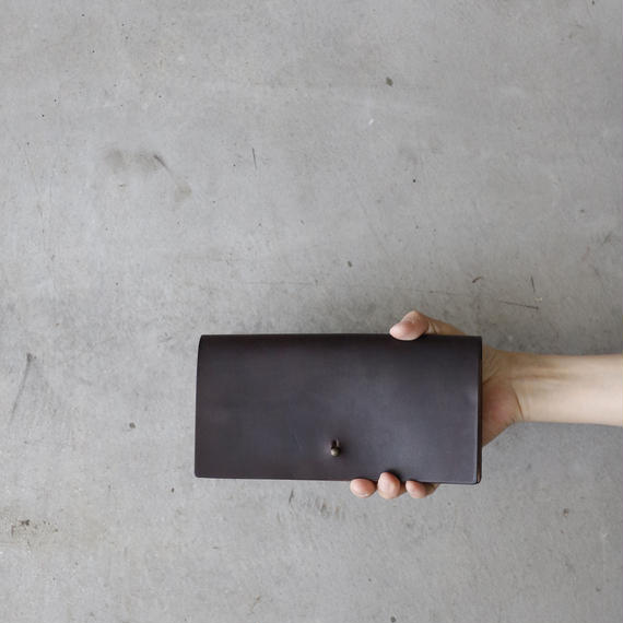 formeフォルメ /  Liscio  leather long walletⅡ長財布Ⅱ /  fo-18009