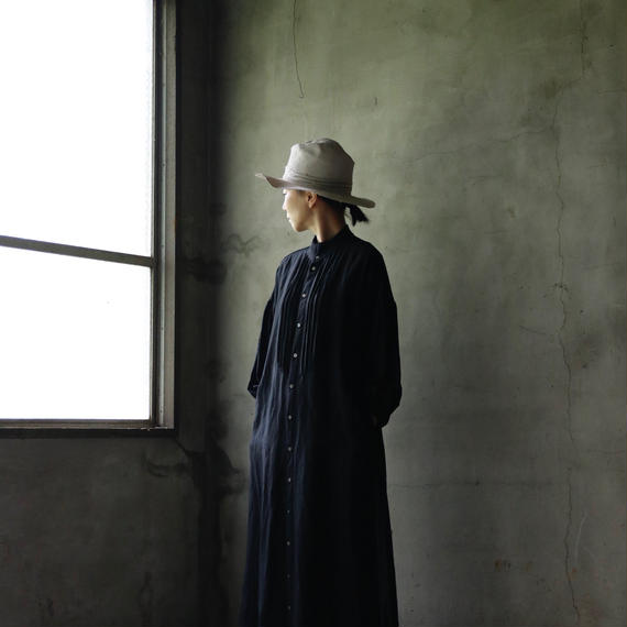 cavane キャヴァネ / pleated one-piece dress プリーツワンピース / ca-18100