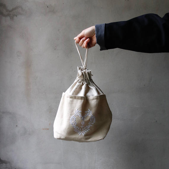 Euro select ユーロセレクト /   Drawstring Bag巾着バッグ  / eu-18001
