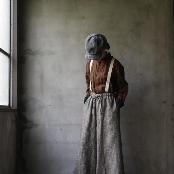 cavane キャヴァネ / Shetland wool wide pantsワイドパンツ/ ca-18079