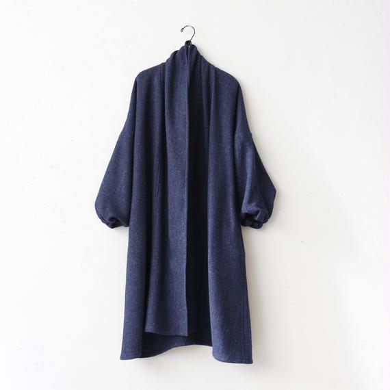 Tabrik タブリク /  Puff-sleeve coatロングコート / ta-17035