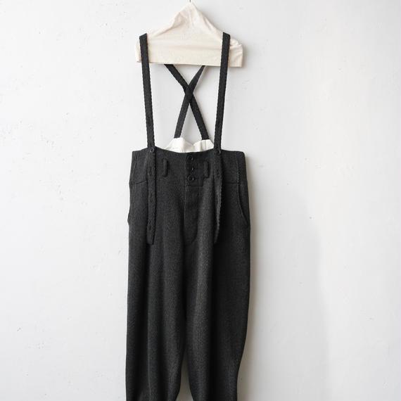 KLASICA クラシカ / Suspenders pantsサスペンダーパンツ  / kl-17014