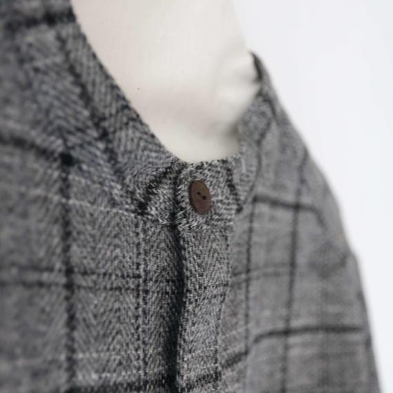 cavane キャヴァネ / Band collar shirts バンド カラーシャツ/ ca-17074