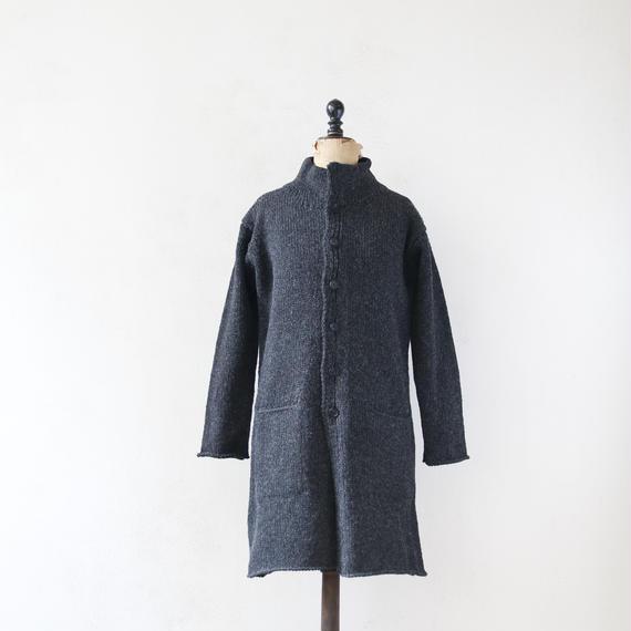 Bergfabel バーグファベル / coat with double collar バージンウールコート/BFmw21/709