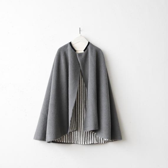 Tabrik タブリク /  Shaggy wool mantシャギーウールマント/ ta-17028