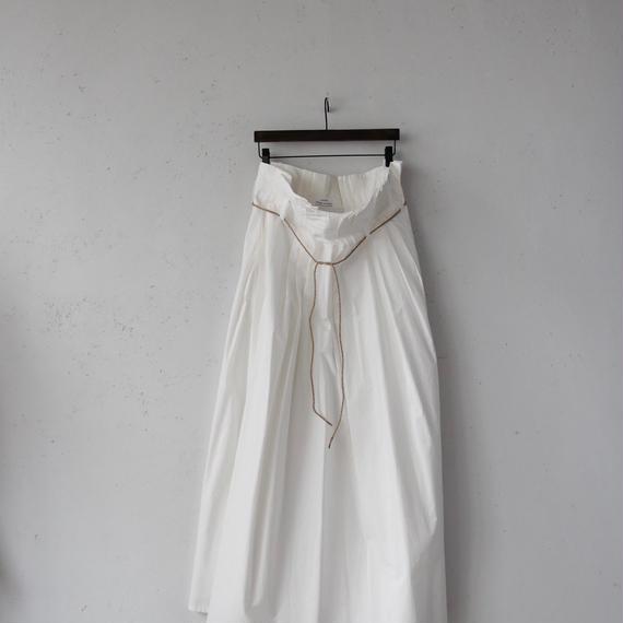 cavane キャヴァネ / Tuck-skirt longタックロングスカート /  ca-18018