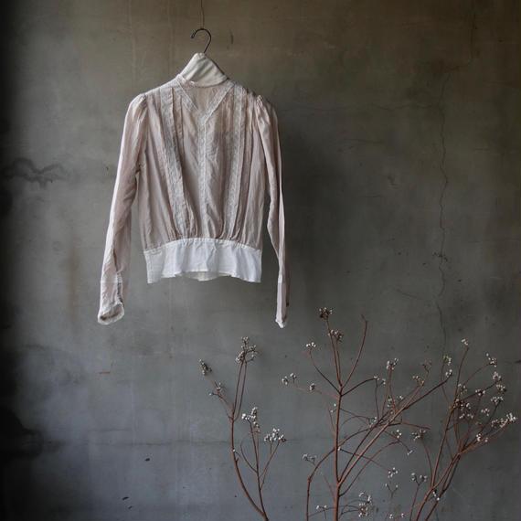 cavane キャヴァネ / 【受注】Farmer-lace blouse ファーマーレースブラウス  / ca-19010