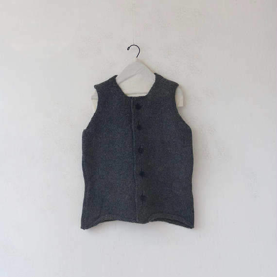 Bergfabel バーグファベル / vest cardigan ベストカーディガン/BFmw25/701