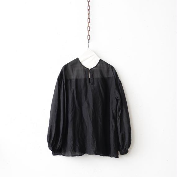 cavane キャヴァネ /【受注】Back gather blouseバックギャザーブラウス / ca-19004
