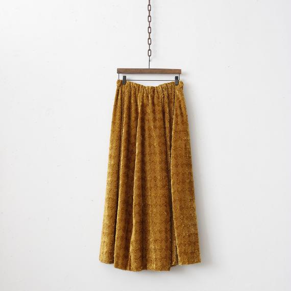 NATIVE VILLAGE ネイティブヴィレッジ / Damas of noon Round cut skirtラウンドカットスカート/  na-18005