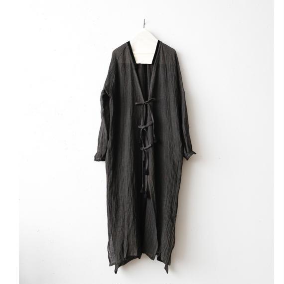 Tabrik タブリク /  linen robe-coatリネンローブコート/ ta-17030