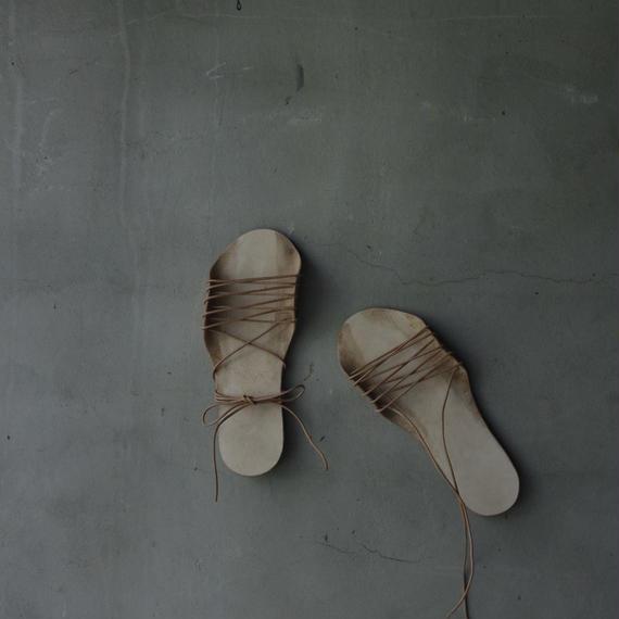 cavane キャヴァネ / lace up leather sandals 革サンダル / ca-18043