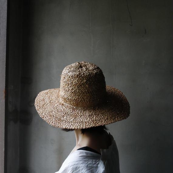 Muhlbauer ミュールバウアー/ NATURAL  STRAW  HAT 帽子/ Mu-18001