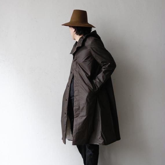 Bergfabel バーグファベル /  Long Coat with Hoodフード付ロングコート / bfm-16015