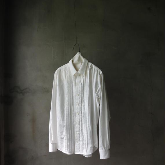 cavane キャヴァネ /  pleated shirt プリーツタックシャツ/  ca-18sale03