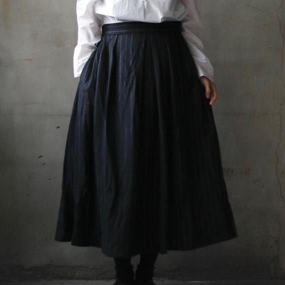 cavane キャヴァネ / Pleated tuck-skirtプリーツタックスカート / ca-17079