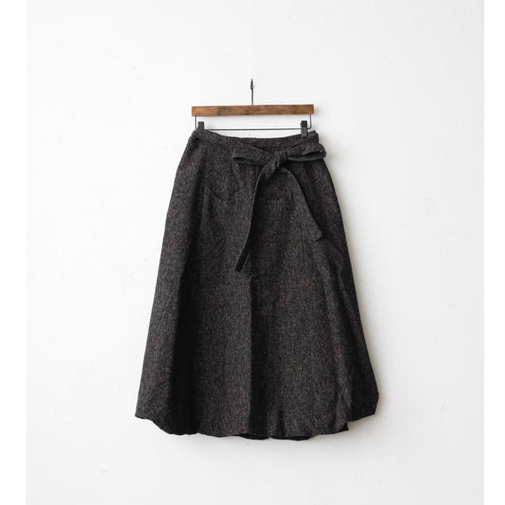 Bergfabel バーグファベル /  farmer apron skirtファーマーラップスカート / bfw-20000