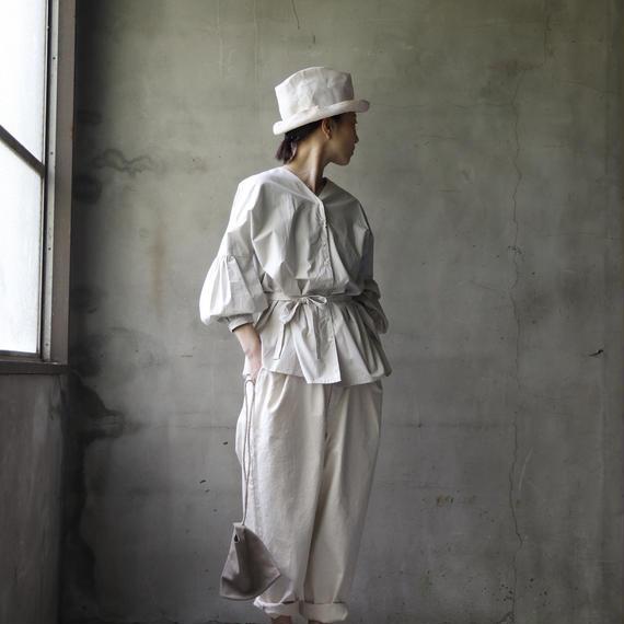 cavane キャヴァネ / cavane キャヴァネ / Puff-sleeve blouseパフスリーブブラウス / ca-18038