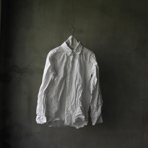 ANSNAM 「alt  」アンスナム「アルト 」 / フレンチリネンシャツFrench linen shirt  / an-17004