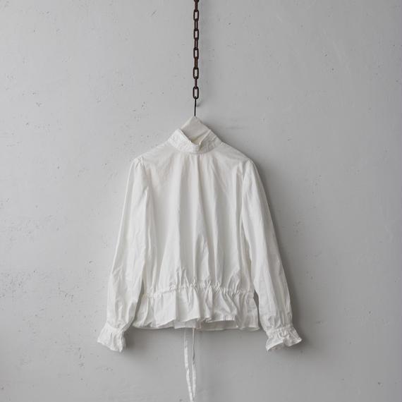 cavane キャヴァネ /  【受注】Farmer blouseⅡ ファーマーブラウスⅡ     / ca-19018