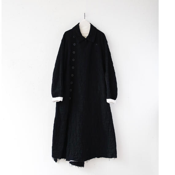KLASICA クラシカ /Over-size Double front coat unisex オーバーコート / kl-17009
