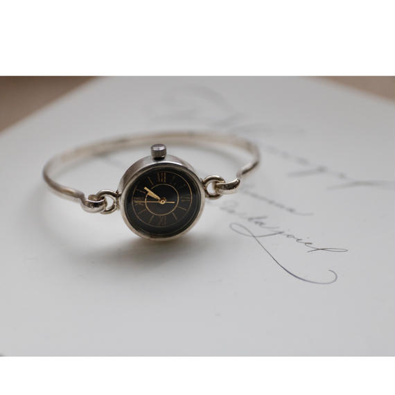 Accessories / Silver925bangle watchシルバーバングル時計 / ca-17053