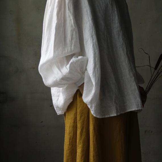 cavane キャヴァネ /  Back gather blouseバックギャザーブラウス / ca-18052
