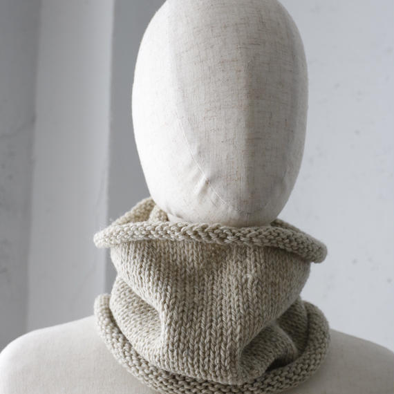 Bergfabel バーグファベル / Hand-made Neck warmer & capネックウォーマー&ニットキャップ/  bfg-17009