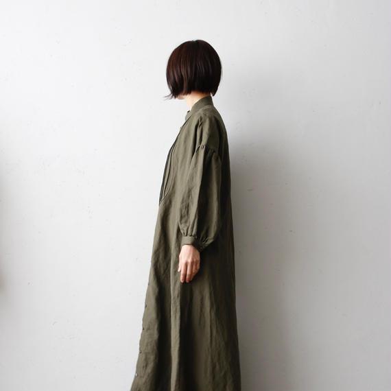 cavane キャヴァネ / Farmer pleated long dressファーマープリーツロングドレス  / ca-18004