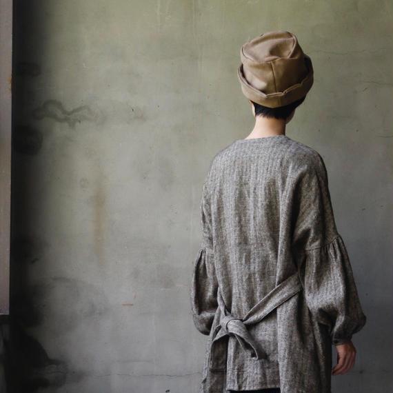 cavane キャヴァネ /  Puff-sleeve long blouseパフスリーブロングブラウス / ca-18082