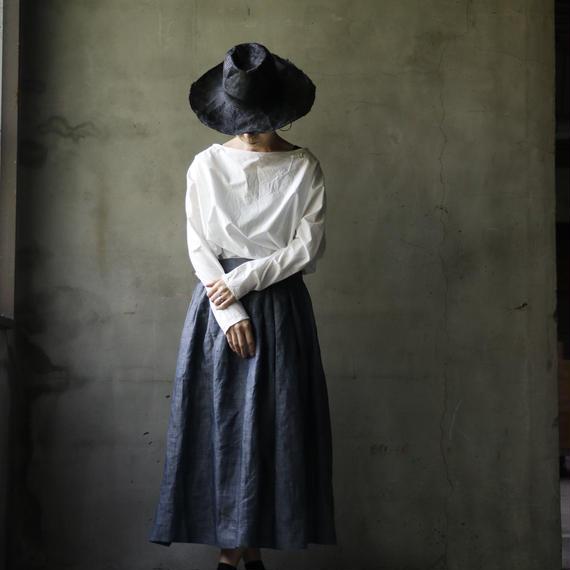 cavane キャヴァネ / Pleated tuck-skirtプリーツタックスカート / ca-17045
