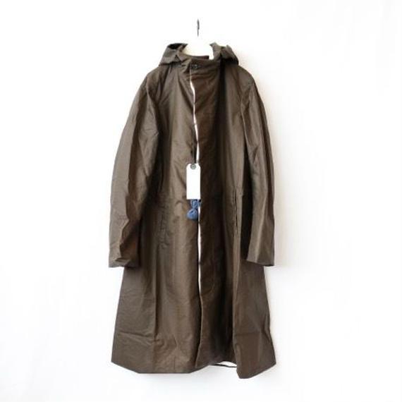Bergfabel バーグファベル /  Long Coat with Hoodロングコートフード / bfm-16015