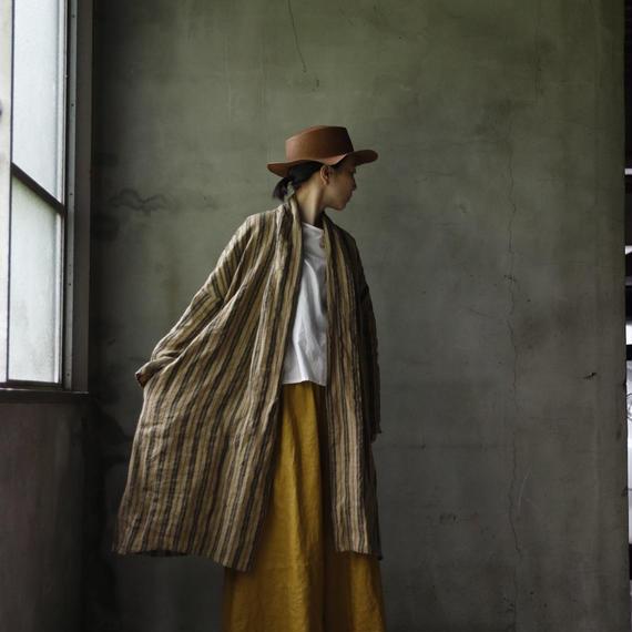 Tabrik タブリク /  robe coatローブコート/ ta-18010