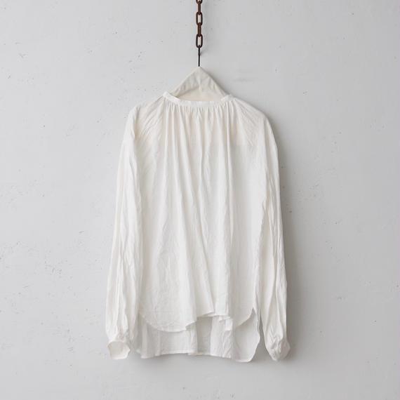 cavane キャヴァネ /  French linen Smock blouseスモックブラウス / ca-18051