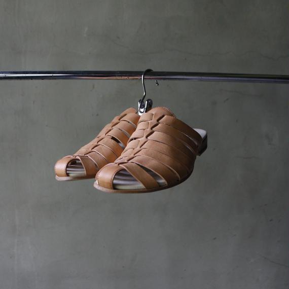 Reinhard plank レナードプランク / LEATHER SANDAL 革サンダル /rp-18009