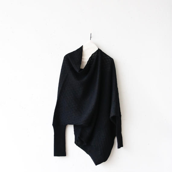 tous les deux ensemble Wトゥレドゥアンサンブル / Draped pullover knitドレープニット/ to-17020
