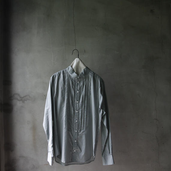 cavane キャヴァネ /  pleated wing color shirt シャツ/  ca-18sale04