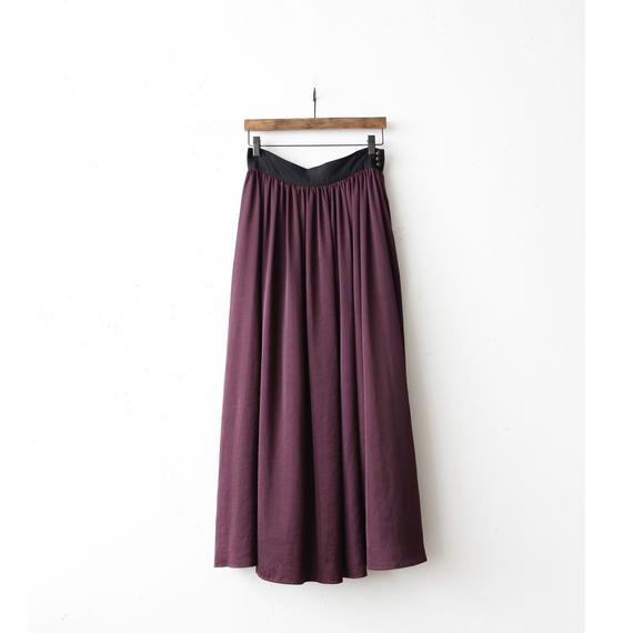 cavane キャヴァネ / long gather-skirtロングギャザースカート / ca-17055B