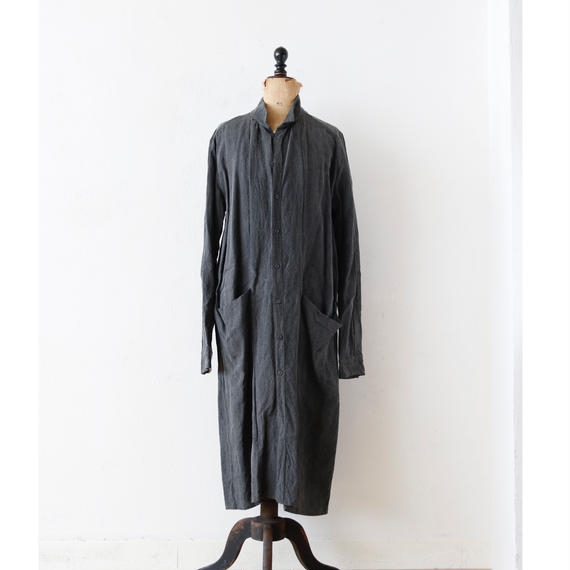 KLASICA クラシカ /Long classic shirts unisex ロングシャツコート/ kl-17002