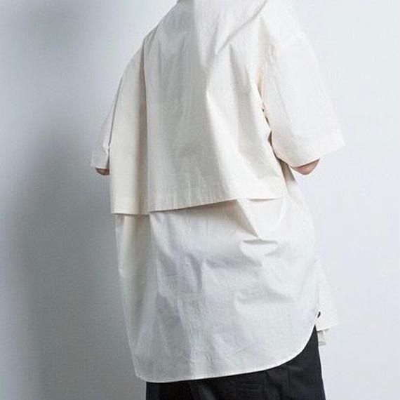 Dulcamara ドゥルカマラ /ショートスリーブトレンチシャツ UNISEX /  dl-18021